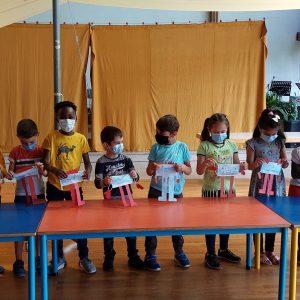 Les marionnettes avec Veronika et les CP